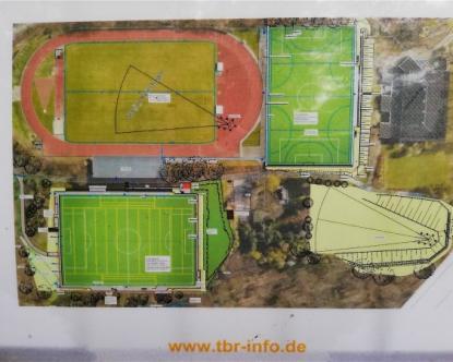 Umbau Stadion Reinshagen